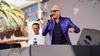 David Lee Roth And DJ Armin Van Buuren Perform 'Jump' At KAOS In Las Vegas