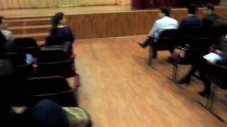 Казань.Таджикистан. Таджики танцуют национальный танец Казань КНИТУ .кхти