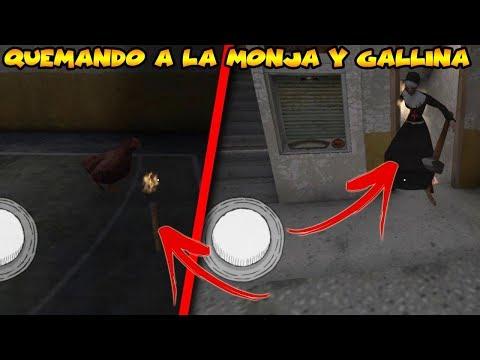 QUEMANDO A LA MONJA Y LA GALLINA|Evil Nun