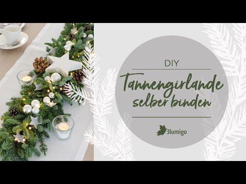 Tannengirlande selber binden - DIY Anleitung