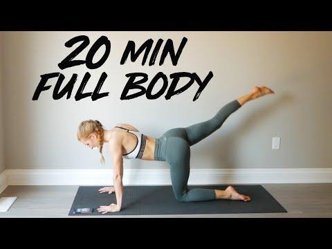 20 MIN FULL BODY WORKOUT