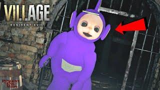Killing Teletubbies Resident Evil 8 Village Mods