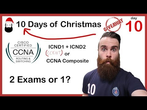 CCNA Exam: 2 Exams or 1? - ICND1 (CCENT) + ICND2 or CCNA ...