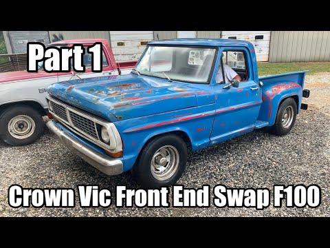 Crown Vic Swap on Bumpside F100 - Part 1