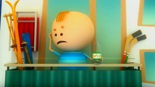 Аркадий Паровозов спешит на помощь - Почему нельзя кидать предметы  с балкона! - мультфильм детям