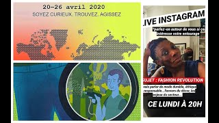 FASHION RÉVOLUTION WEEK 2020