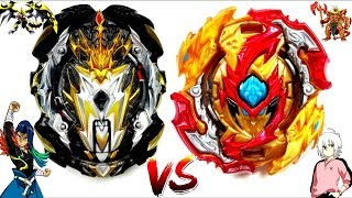 UNBURSTABLE: Prime Apocalypse 0D.Ul' vs Lord Spriggan Bl.Dm'-Arthur vs Shu-Beyblade Burst GT Battle!