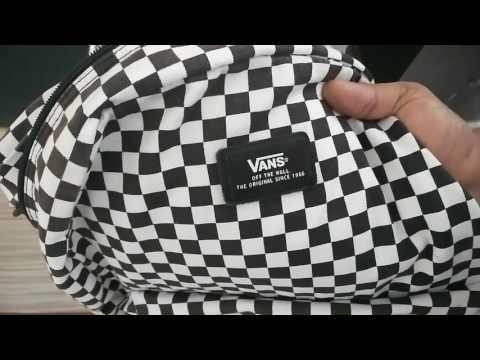 Vans backpack review