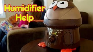 HUMIDIFIER HELP | Baby Care with Jenni June