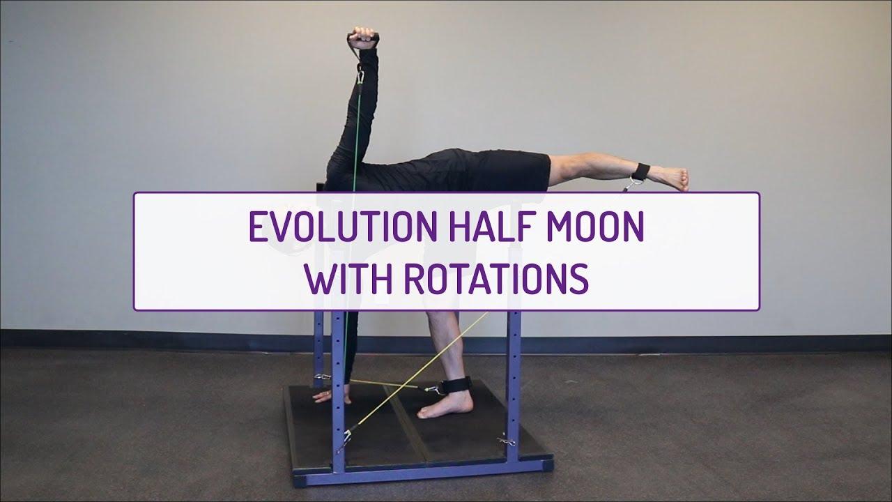 Evolution Half Moon With Rotations