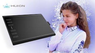 Обзор графического планшета Huion H1060P