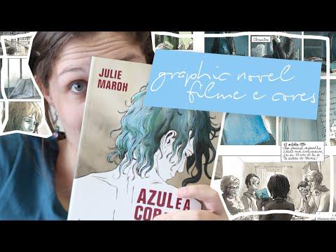AZUL É A COR MAIS QUENTE: HQ, FILME E CORES | Resenha
