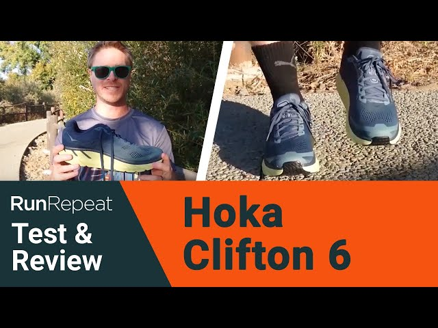 Hoka One One Clifton 6 test & review - A good recovery shoe