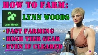 Fallout 4: How To Farm Lynn Woods (Fast Farming)