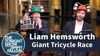 Giant Tricycle Race With Liam Hemsworth