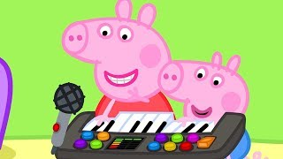 Peppa Pig Official Channel  ⭐️ New Season ⭐️ Peppa Pig Plays Funny Music