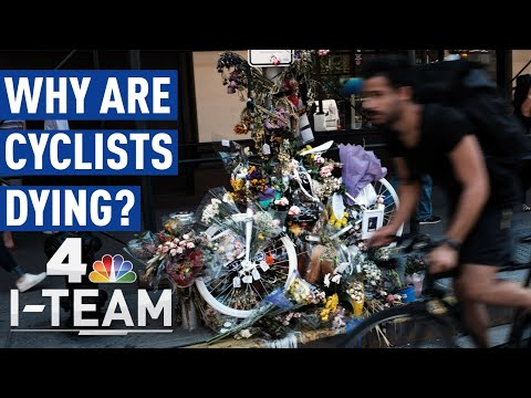 Why Are Bicyclists Dying on NYC Streets?   NBC New York I-Team