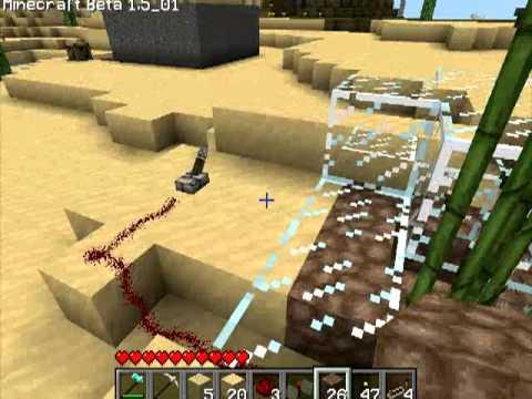 Различные механизмы в Minecraft - 16 серия