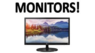 How do computer monitors work?