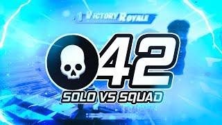 42 KILLS WORLD RECORD   SOLO VS SQUAD   Siphon LTM (Fortnite Battle Royale)