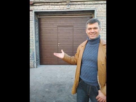 Фото Монтажники секционных ворот