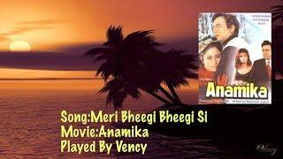Meri Bheegi Bheegi Si Instrumental With Lyrics - YouTube