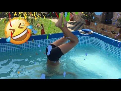 piscina cu viermi)