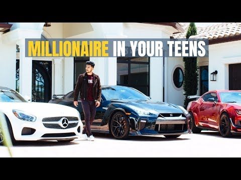 , title : 'How To Become A Millionaire In Your Teens
