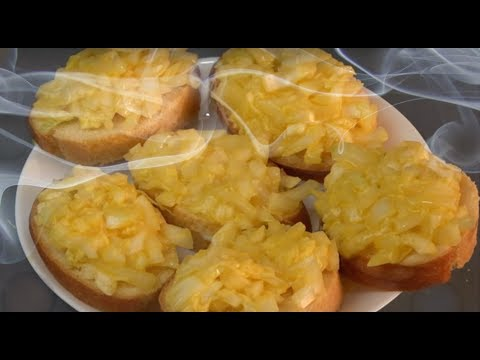 Что приготовить? Бутерброды с секретом. Завтрак пенсионера.