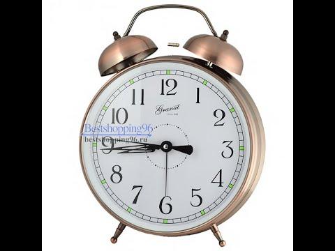 Видео обзор будильника гиганта ГРАНАТ GK-10