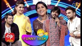Sudheer | Rashmi | Pradeep | Aadhi | Varshini | Funny Task All in One | Dhee 10 | ETV Telugu