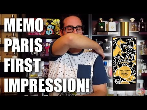 Memo Paris Fragrances First Impression!
