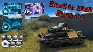 Tanki Online - Road to 2000 Stars #2   Legend 10 Rank Up + Huge Gold Box Rain + OPENING CONTAINERS!