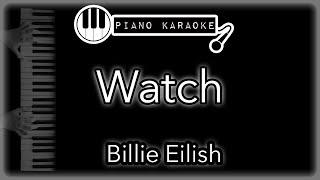 Watch   Billie Eilish   Piano Karaoke (with Lyrics)
