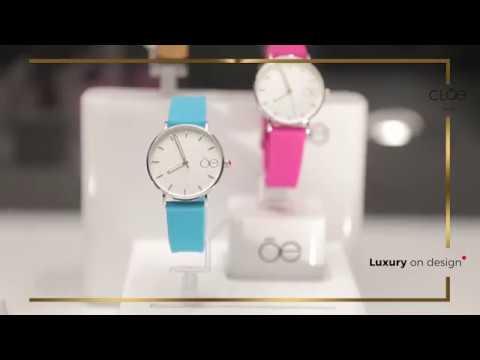 Conoce Cloe time, la nueva coleccion de relojes de Cloe.