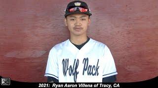 2021 Ryan Villena Athletic Shortstop Baseball Skills Video - CBA North Upperclass National