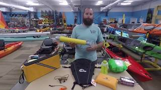 Suggested Sit Inside Kayak Accessories