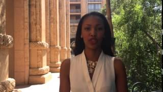 Gugulethu Banda Miss South Africa 2015 finalist at pre judging