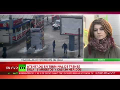 Ataque suicida en la estación de Volgogrado, Rusia