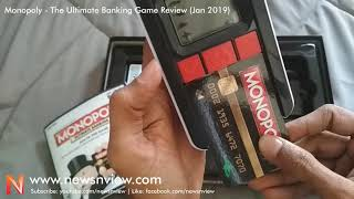 How to Play Monopoly | MONOPOLY Ultimate Banking Game | Monopoly Credit Card Game Review in Hindi