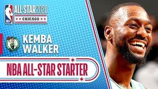 Kemba Walker 2020 All-Star Starter   2019-20 NBA Season