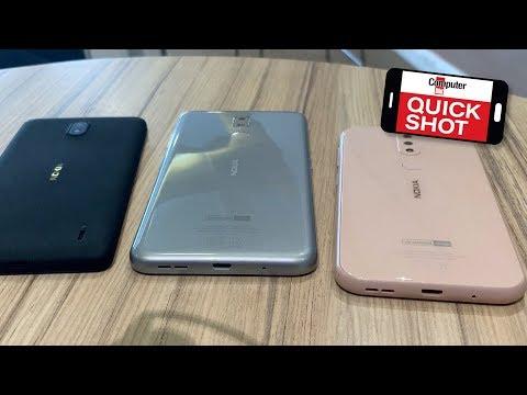 Nokia 1 Plus Nokia 3.2 Nokia 4.2: Smartphones mit Android-Update-Garantie