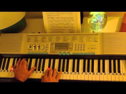 How to Play ~ I Will Lift My Eyes ~ Bebo Norman ~ LetterNotePlayer ©