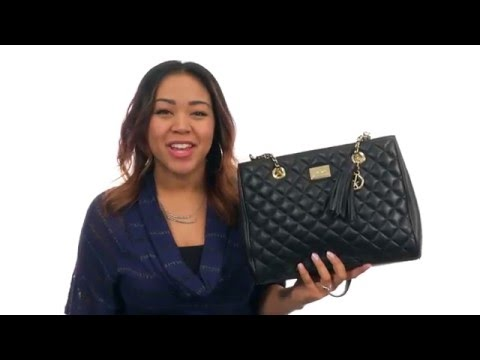 Calvin Klein – Quilted Leather Tote  SKU:8644780