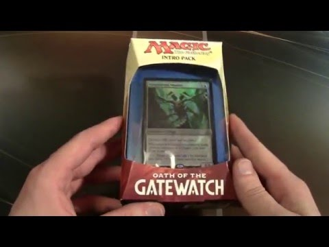 Oath of the Gatewatch Intro Pack : Twisted Reality (BLUE)