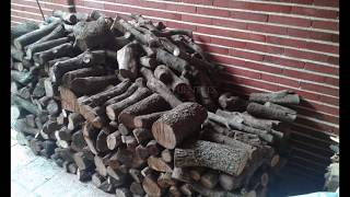 preview picture of video 'Leña a domicilio, leña de encina Griñon y + 635643832'
