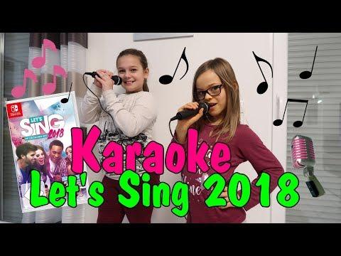 Karaoke mit Nintendo Switch Let's Sing 2018