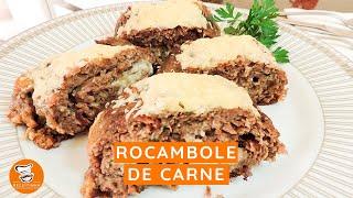 #28 - Rocambole de Carne Moída com 4 Queijos