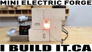 Mini Forge / Heat Treat Oven Experiment