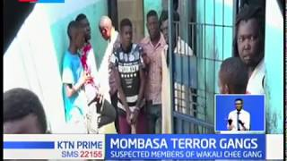 Mombasa terror gangs arrested , blood stained machetes seized